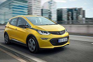 Das Elektroauto Opel Ampera-e. Foto: Opel