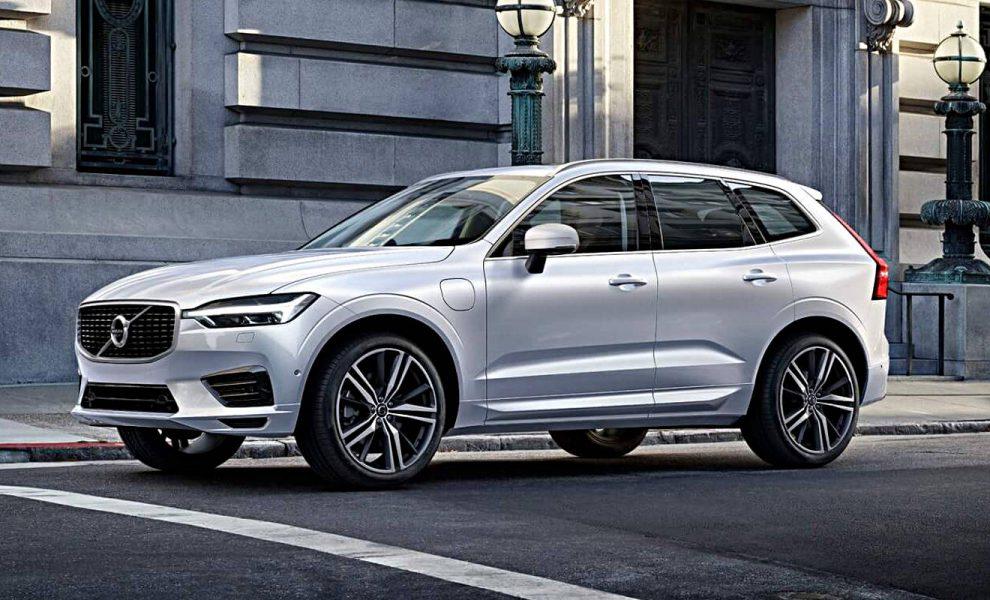 Der Volvo XC60 kommt auch als Plug-in-Hybrid. Foto: Volvo