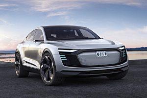 Neues Elektromodell von Audi, der e-tron Sportback Concept. Foto: Audi