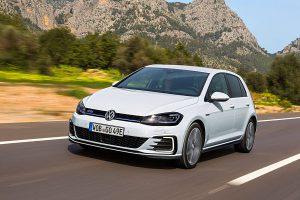 Der Golf GTE von VW hat einen Plug-in-Hybrid. Foto: VW