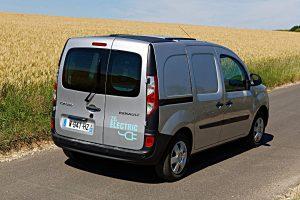Elektroauto von Renault: der Kangoo Z.E. Foto: Renault