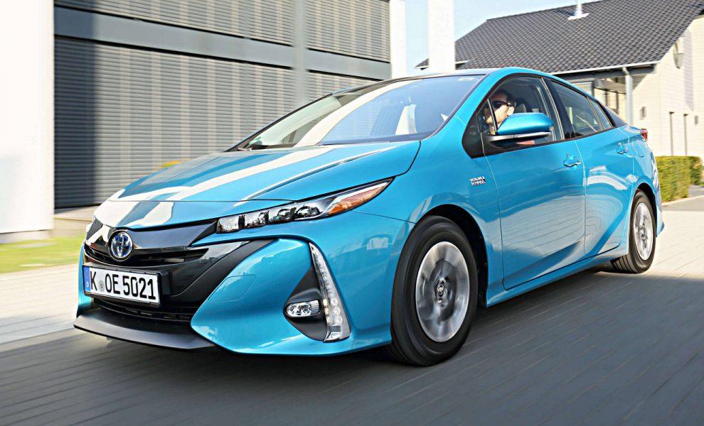 Bester im ADAC Eco-Test: der Toyota Prius Plug-in-Hybrid. Foto: Toyota