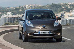 Der neue Nissan Leaf erhält ein e-Pedal. Foto: NIssan
