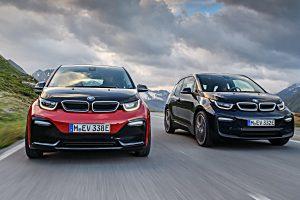 Der BMW i3 hat ein Facelift bekommen. Foto: BMW