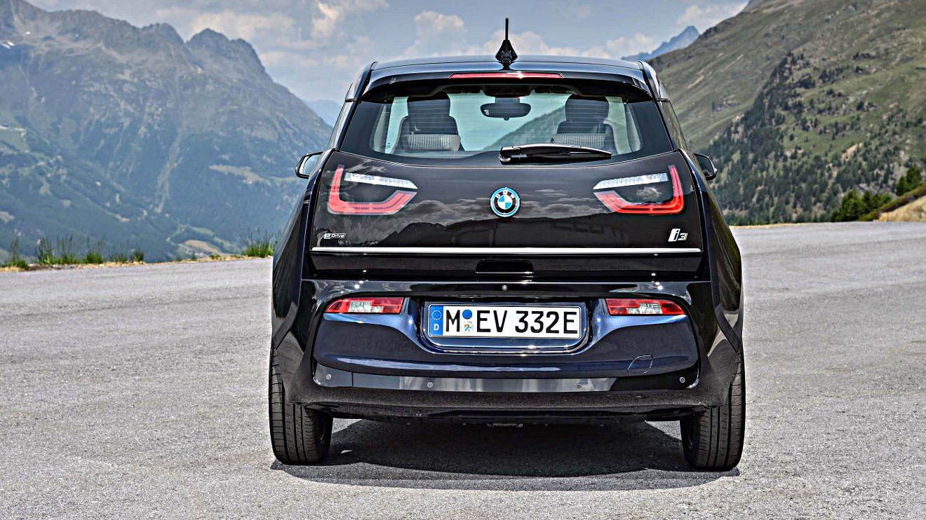 Das Heck des BMW i3. Foto: BMW