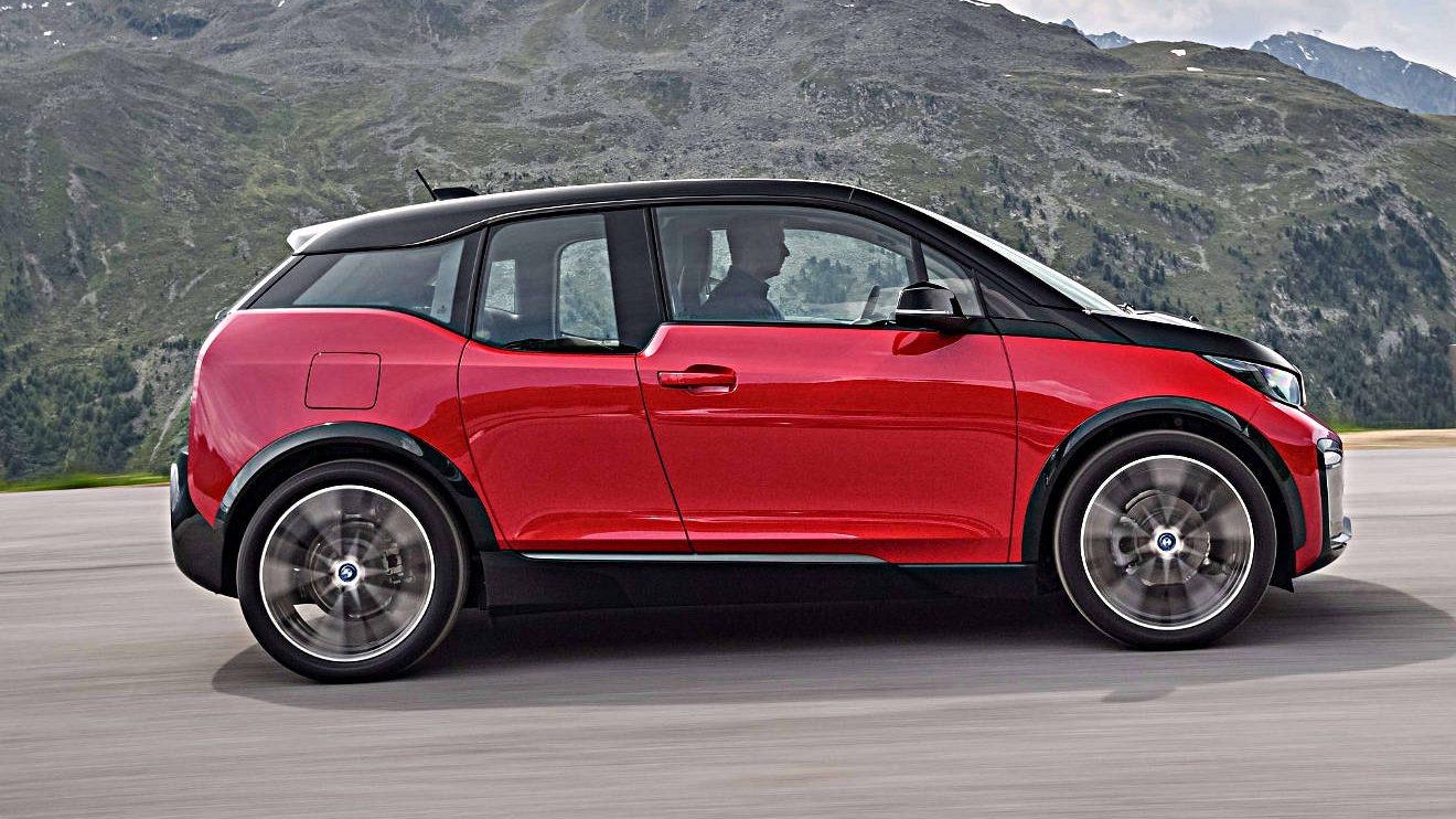 Der BMW i3. Foto: BMW