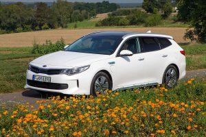Auch der Kia Optima erhält einen Plugin-Hybrid-Antrieb. Foto: Kia