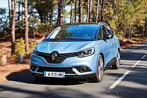 Schlechte Noten im ADAC Eco-Test: Der Renault Grand Scenic. Foto: Renault
