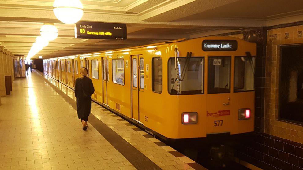 U-Bahn in Berlin. Foto: Mertens