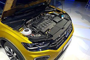 VW setzt im T-Roc auf Dieselmotoren. Foto: Mertens