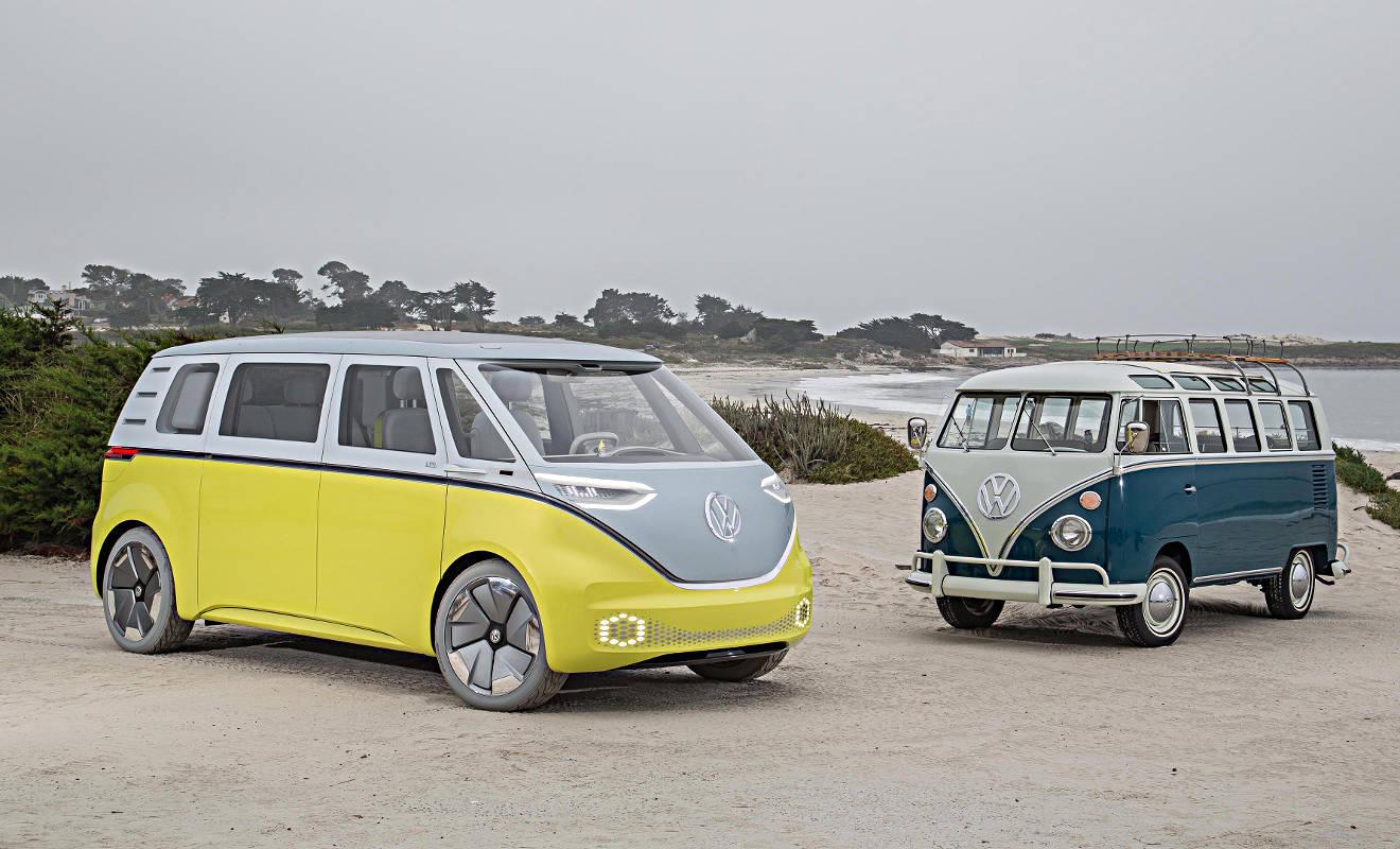 Der elektrisch und autonom fahrende VW I.D. Buzz. Foto: VW