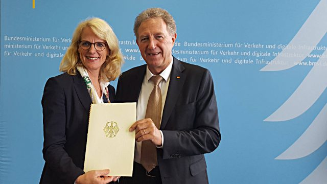 Elke Temme und Norbert Barthle. Foto: Innogy