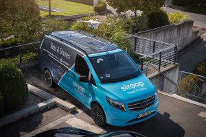 Mercedes-Benz liefert per Drohne aus. foto: Daimler