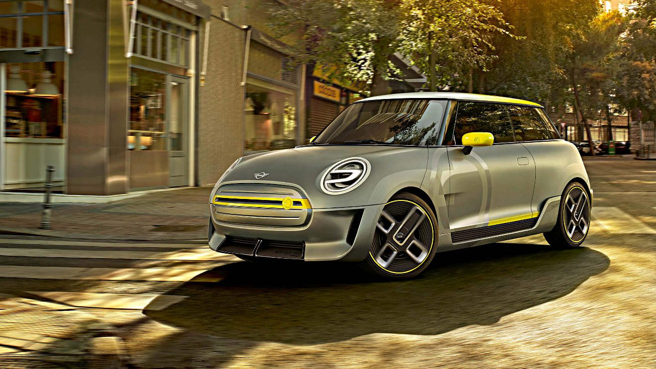 Auf der IAA zeigt Mini das Electric Concept. Foto: BMW