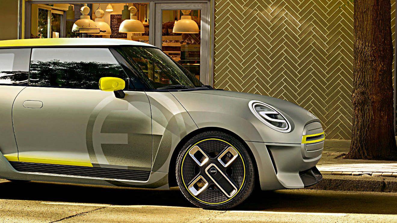 Die Seiten des Mini Electric Concept. Foto: BMW