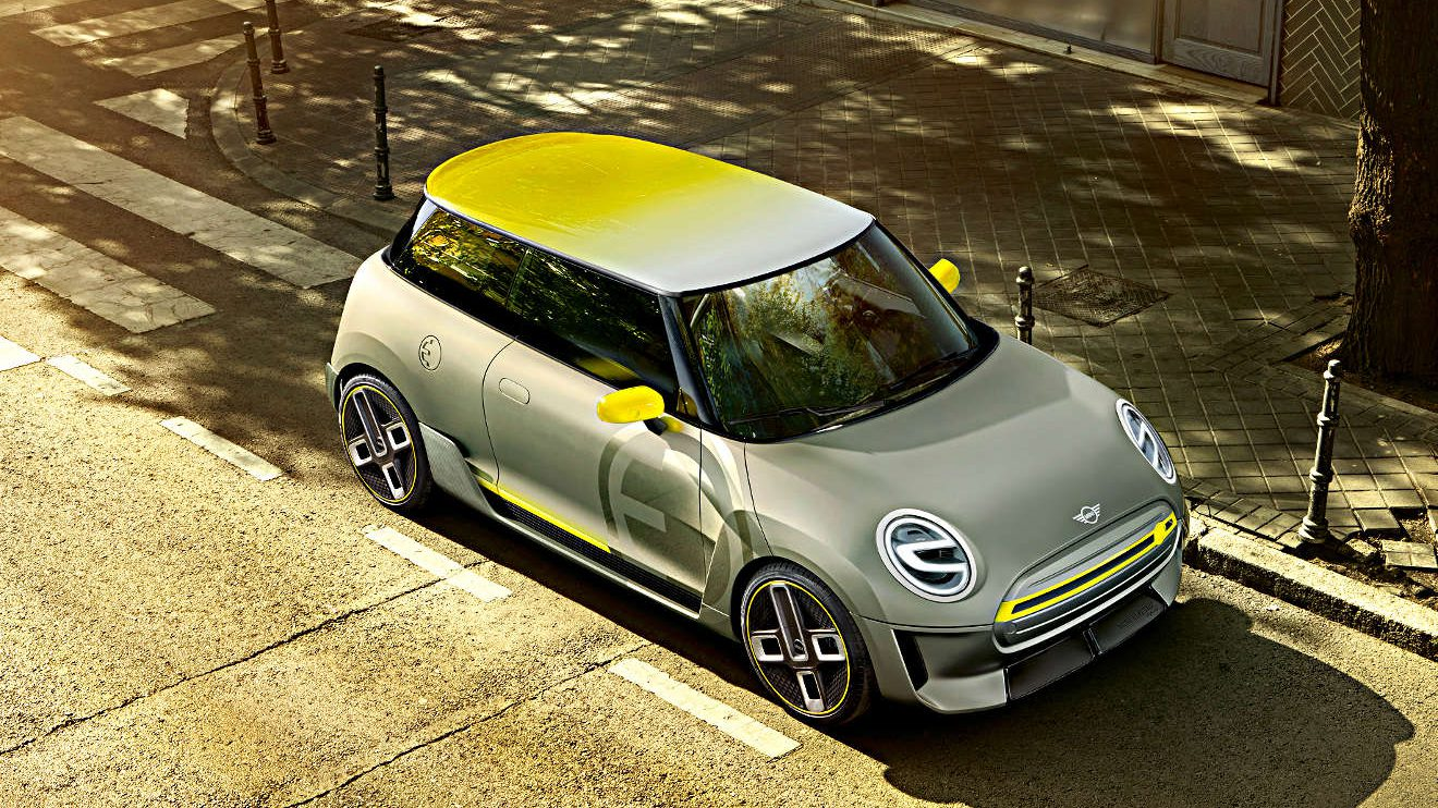 Das Mini Electric Concept. Foto: BMW