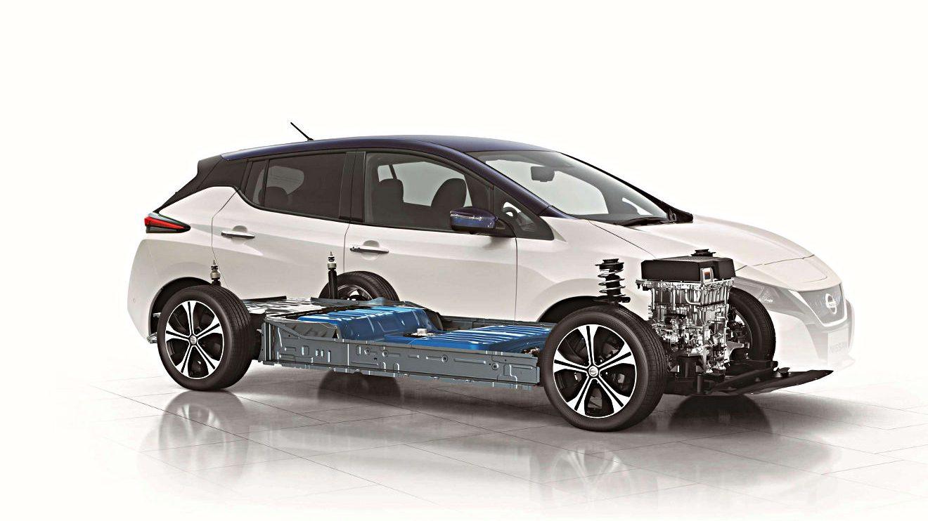 Der Nissan Leaf feierte seine Weltpremiere in Japan. Foto: Nissan