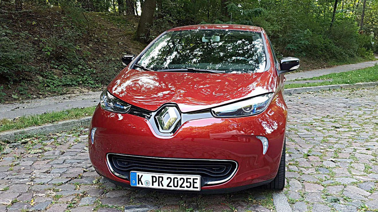 Elektrisches Fahren ohne Reichweitenangst, der Renault Zoe. Foto: Mertens
