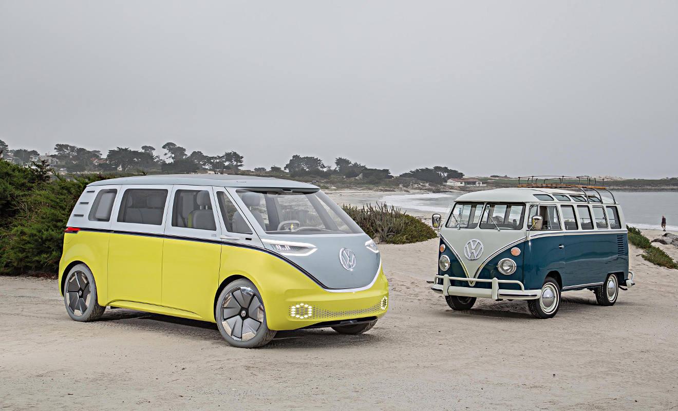 Der VW I.D. Buzz wird gebaut. Foto; VW