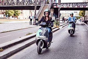 E-Scooter von Coup in Paris. Foto: Coup