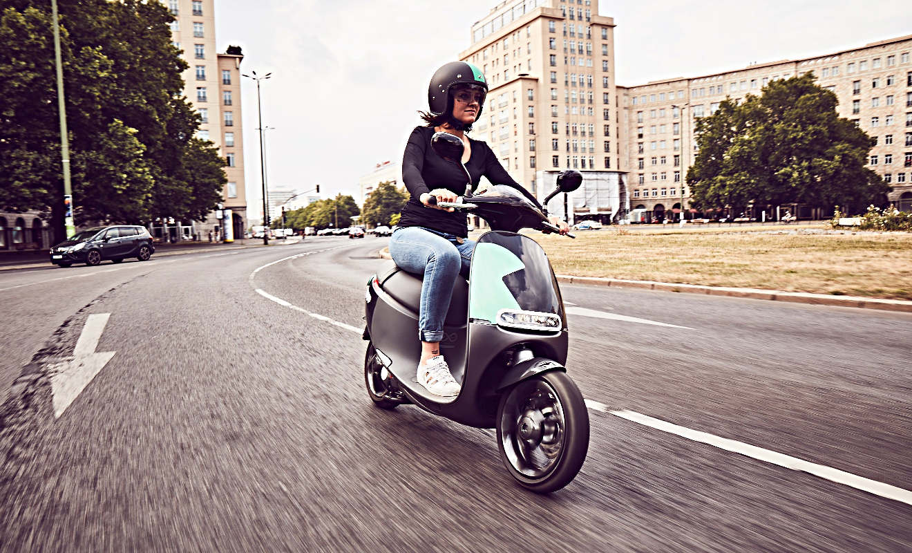 E-Scooter von Coup. Foto; Coup