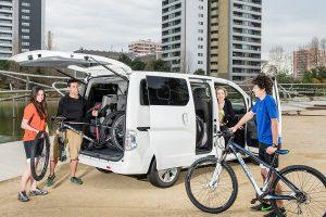 Der Nissan e-NV200 Evalia ist der erste elektrische Kleinbus. Foto: Nissan
