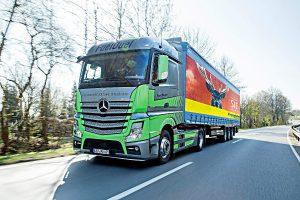Ein LKW von Daimler. Foto: Daimler