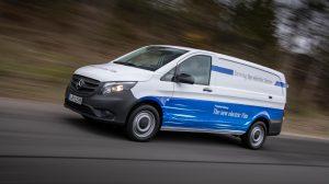 Der Elektro-Vito von Mercedes. Foto: Daimler