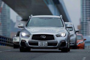 Nissan testet den ProPilot. Foto: Nissan
