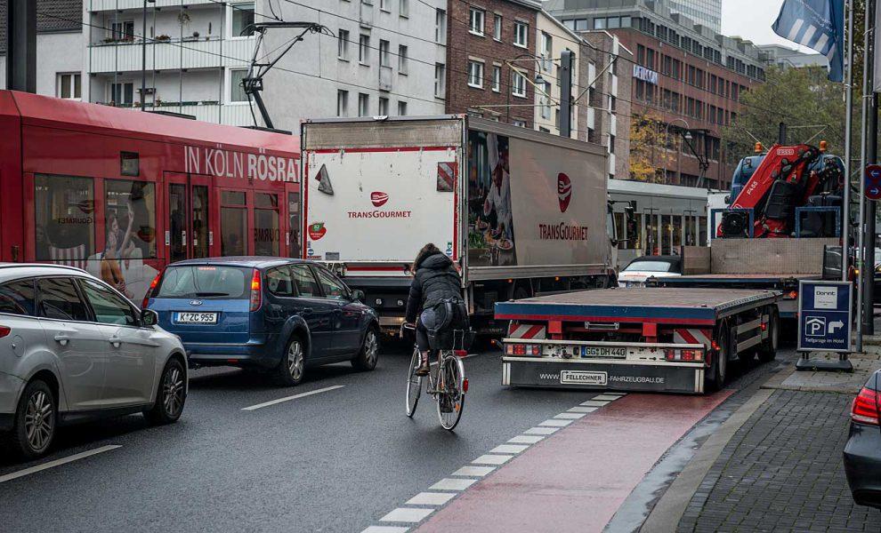 In Köln sind die Verkehrsteilnehmer am unzufriedensten. Foto: ADAC