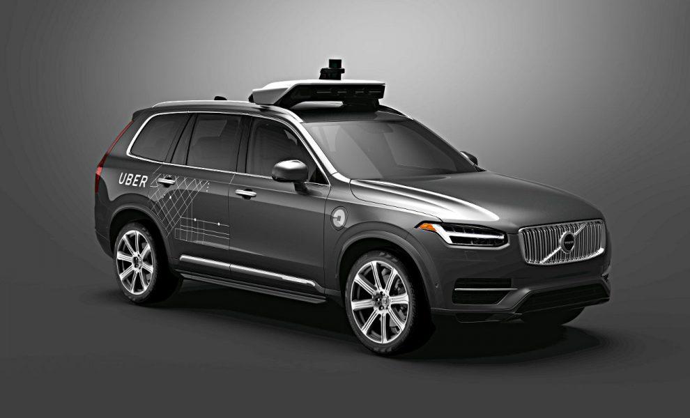 Der Volvo XC90 für Uber. Foto: Volvo