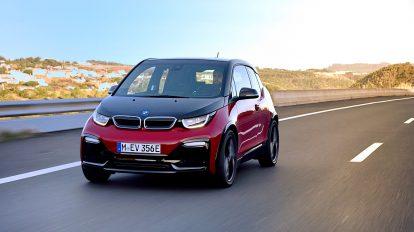 Der BMW i3s auf Tour. Foto: BMW