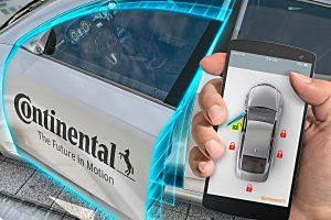 Digitaler Autoschlüssel von Continental. Foto: Continental