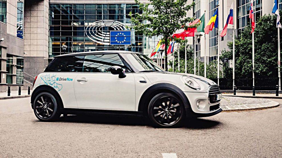 Der Carsharinganbieter DriveNow. Foto: BMW