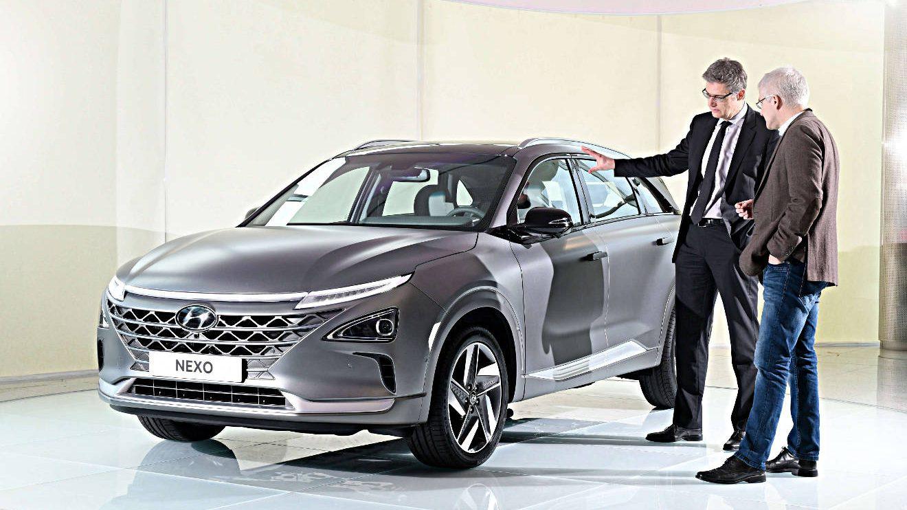 Der Hyundai Nexo. Foto: Hyundai/Bittmann