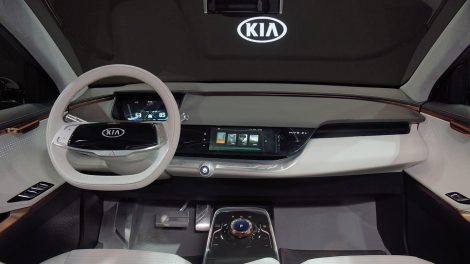 Das Cockpit des Kia Niro EV. Foto: Kia