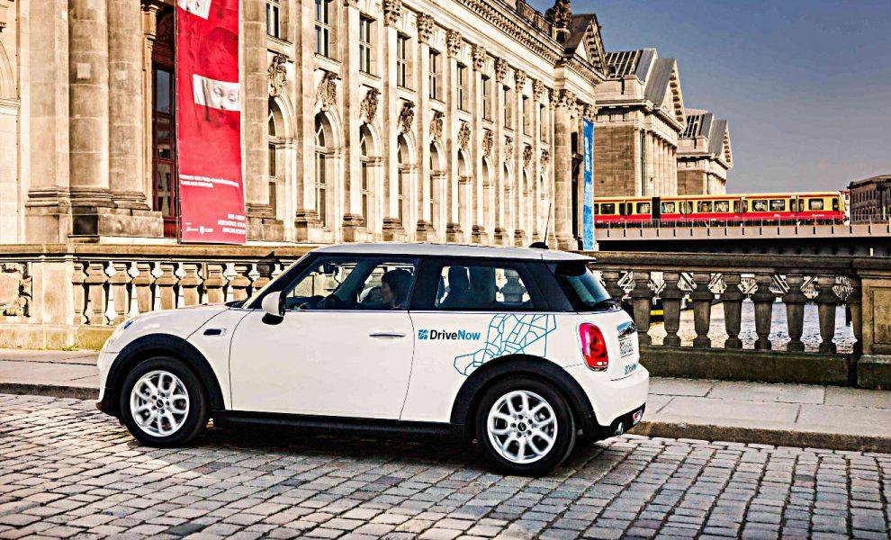 DriveNow-Fahrzeug. Foto: DriveNow