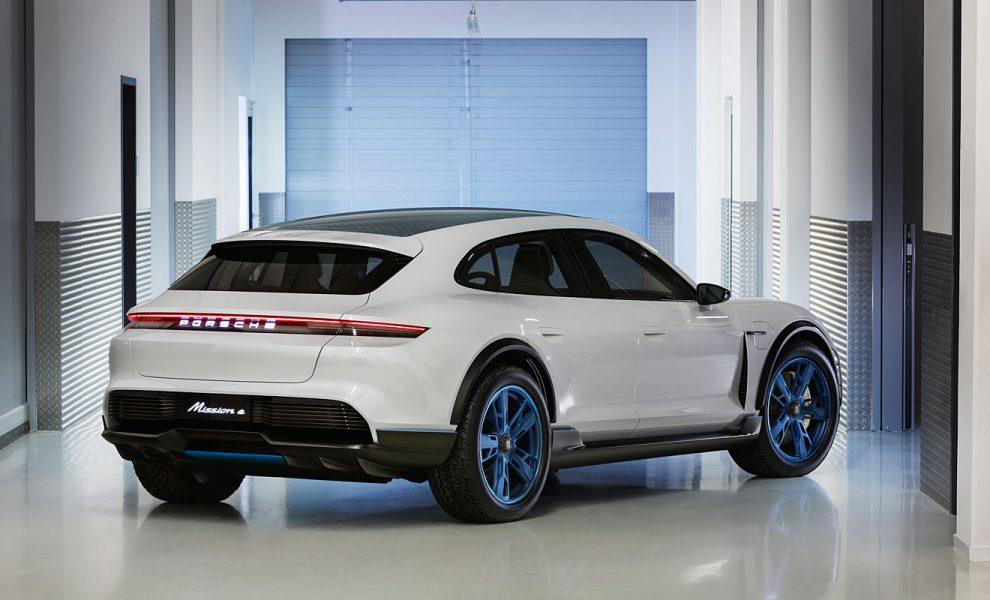Der Mission E Cross Turismo. Foto: Porsche