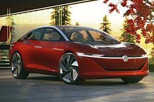 VW I.D. Vizzion. Foto: VW