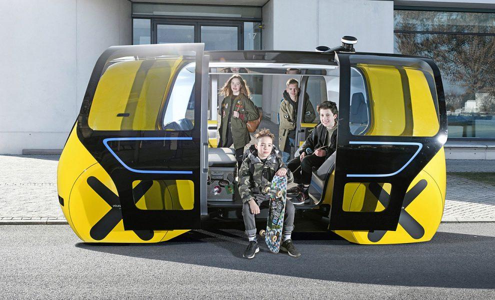 Der Sedric School Bus. Foto: Volkswagen
