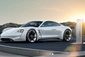 Der Porsche Taycan. Foto: Porsche