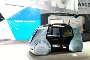 Der Sedric Active. Foto: VW