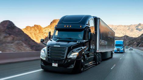 Der Daimler Freightliner Cascadia. Foto: Daimler